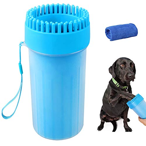 Soneer Dog Paw Cleaner,Portable Pet Paw Cleaner,Dog Foot Washer...