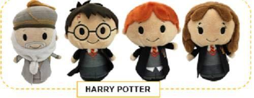 Amy Karyn Hallmark Harry Potter Itty Bitty Set - Harry Potter, Hermione, Ron Weasley, Dumbledore