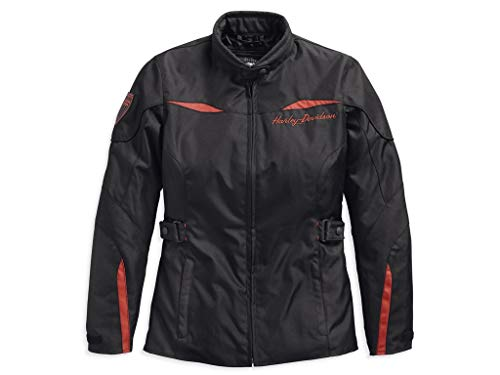 HARLEY-DAVIDSON Barrie Slim Fit Riding Damen Jacke, 97132-19EW, M