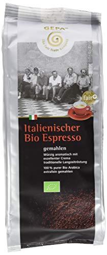 Gepa Italienischer Bio Espresso, 2er Pack (2 x 250 g)