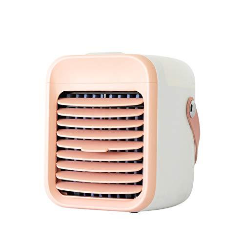 Zarupeng Ventilatore con timer personale, refrigeratore ad aria, ionizzatore, umidificatore 3 in 1, climatizzatore portatile, silenzioso, 3 livelli USB, per stanza e ufficio, casa, festa del papà b S
