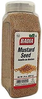 24 oz Badia Whole Yellow Mustard Seed Semillas de Mostaza Entera Kosher