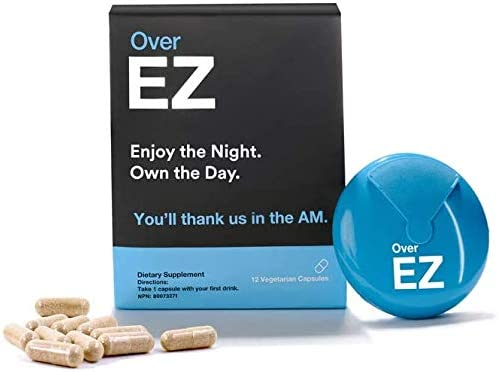 Over EZ Pre-Drink Supplement 市場 - Party Prevention Pills 有名な Recovery