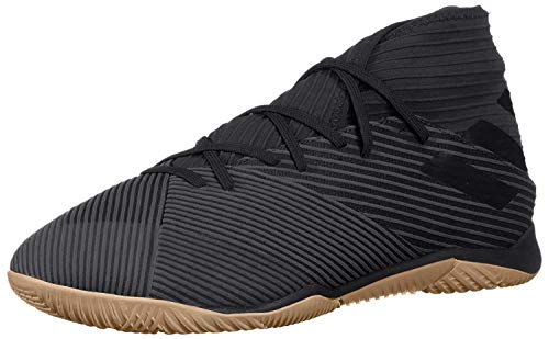 adidas Men's Nemeziz 19.3 Indoor Soccer Shoe, Utility Black, 9.5 M US