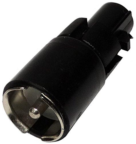 AERZETIX: Connecteur Adaptateur fiche d'antenne autoradio FAKRA mâle vers ISO mâle pour Auto Voiture