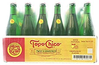Topo Chico, Water Mineral Grapefruit, 11.5 Fl Oz, 24 Pack