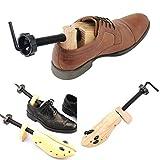 Jinxuny 1pc Écarteur de Chaussures pour Femme et Homme 2 Voies réglable Unisexe (S(EU 34-37))