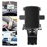 Spida Mount - Universal Phone Clip 360° Rotation for 3-7 Inch Smartphones,Car Holder Stand Bracket Mobile,Adjustable Dashboard Phone Holder for Safe Driving