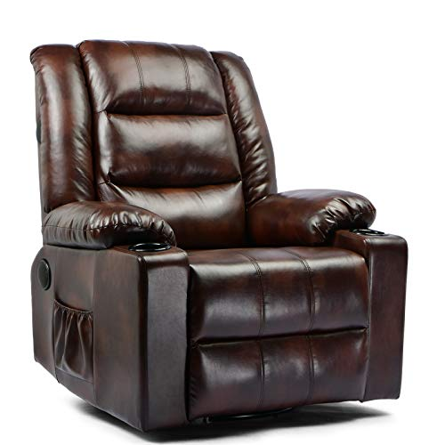 ComHoma Massage Recliner Chair Pu Leather Home Theater Recliner Chair...