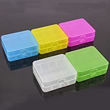 10x Caja de almacenamiento de batería Caja de transporte Caja de batería 26650