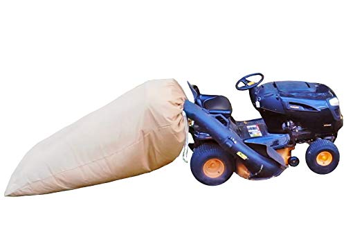 JL-BRAND ST95000 Leaf Bag Opening Fits for Most Two Bag Material Collection Systems for Ride-in Lawn Mowers-97-inch