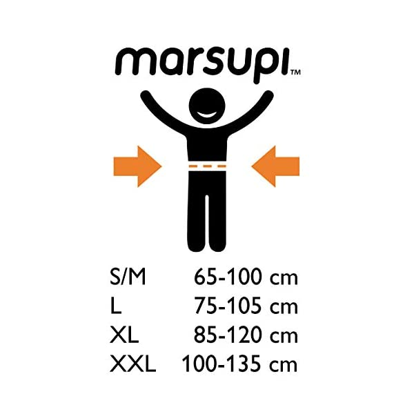 41qwUlW5BML. SS600  - marsupi - Mochila portabebés gris/gris Talla:2XL