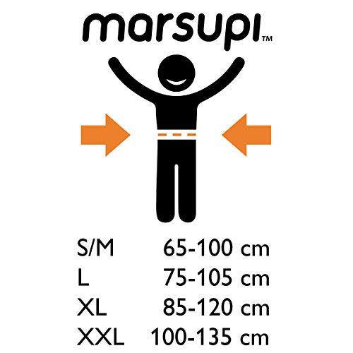 41qwUlW5BML - marsupi - Mochila portabebés gris/gris Talla:2XL