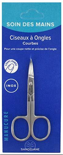 Sanodiane Manucure Ciseaux à Ongles Courbes