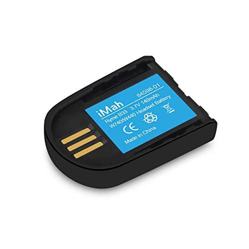 Replacement 84598-01 Battery for Plantronics 82742-01 Headset Battery Savi W440 W445 WH500 W740 W745 CS540XD Wireless Headsets