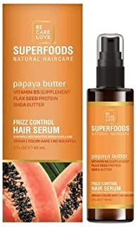 BCL SPA SuperFoods Papaya Frizz Control Leave-In Hair Serum - 2oz