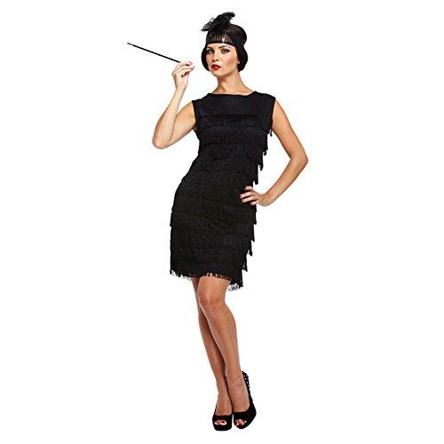Disfraz para chica estilo años 20, negro