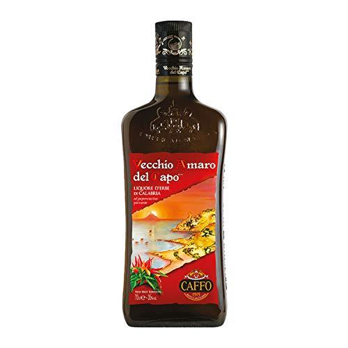 Vecchio Amaro del Capo RED HOT EDITION al peperoncino piccante calabrese