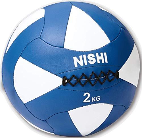 NISHI(ニシ・スポーツ) メガソフトメディシンボール 5kg NT5815B ホワイト