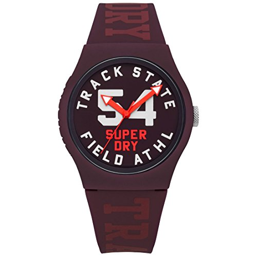 Superdry Urban Track & Field Analog Red Dial Women's Watch-SYL182RR