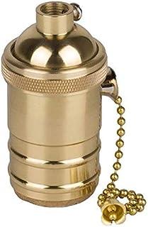 BETOY - Portalámparas E27 con interruptor de cadena para DIY Edison lámpara colgante, accesorios, bombilla Edison antigua,...