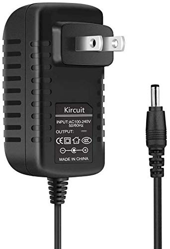 Kircuit AC/DC Adapter for Zoom Digital Portable Audio Voice Handy Recorder H4n Pro H4NSP Q3 HD Q3HD APQ-3HD R16 R24 UAC-2 ZAD0014D 05005GPCU AD-14 AD-14A 5V Power Supply Battery Charger