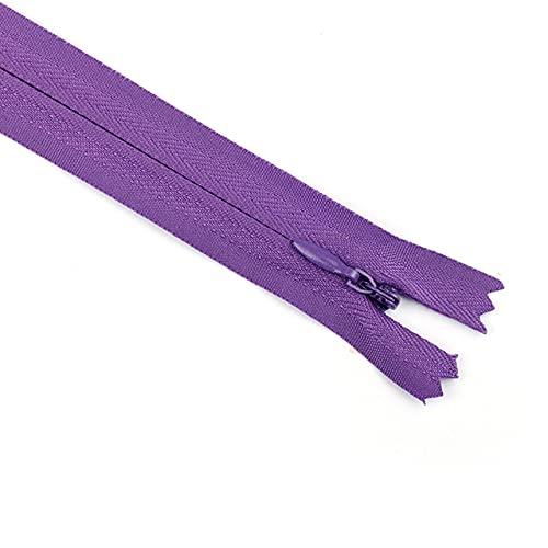 5 cremalleras de bobina de nailon coloridas de 30 cm de longitud para paños pantalones, ropa, ropa, costura, artesanía, accesorios de bricolaje-9