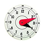Edulearnable 3mm Thick Foam Clock Toy Kids Number Time Early Learning Gift for Little Boys Girls, Kids Clock Toy, Clock Toy