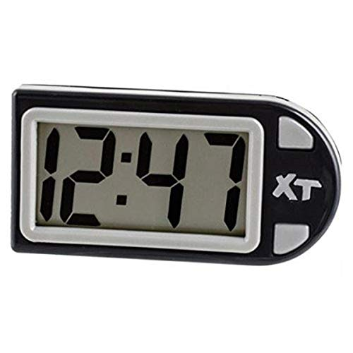 Custom Accessories 25211 Digital Clock Battery Included Reloj Digital Black