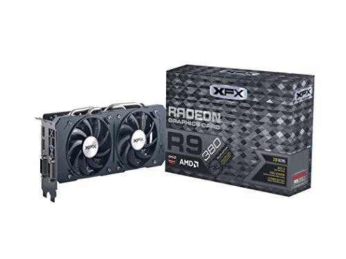 XFX AMD Radeon R9 380 - Tarjeta gráfica de 2 GB (GDDR5, PCI Express 3.0, 1030...
