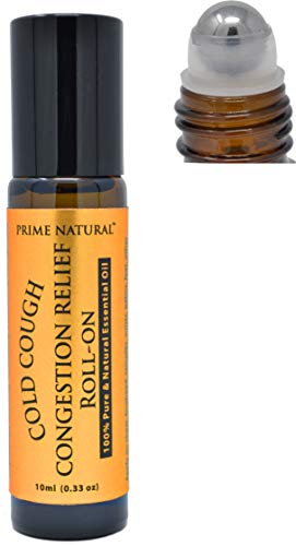 Prime Natural Cold Cough Congestion Relief Essential Oil...