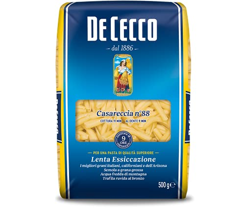 De Cecco Casareccia N° 88, Pasta di Semola di Grano Duro, 500g