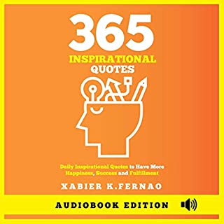 365 Inspirational Quotes audiobook cover art