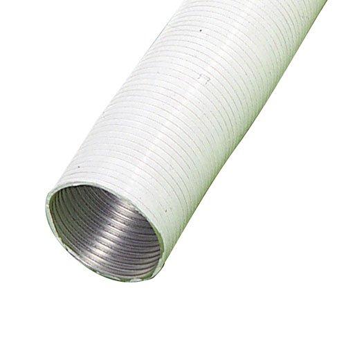 Wolfpack 2560023 – Tube aluminium compact blanc 150 mm 5 m