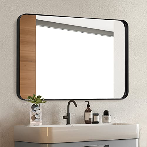 Clavie Wall Mirror 24x36 Inch Mirror for Bathroom