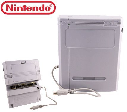 Super Nintendo SNES Game Saver + RARE Nakitek