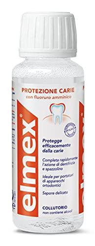 Set 6 ELMEX Enjuague bucal 100 ml Protecci?n Carie Cuidado Y Higiene Dental