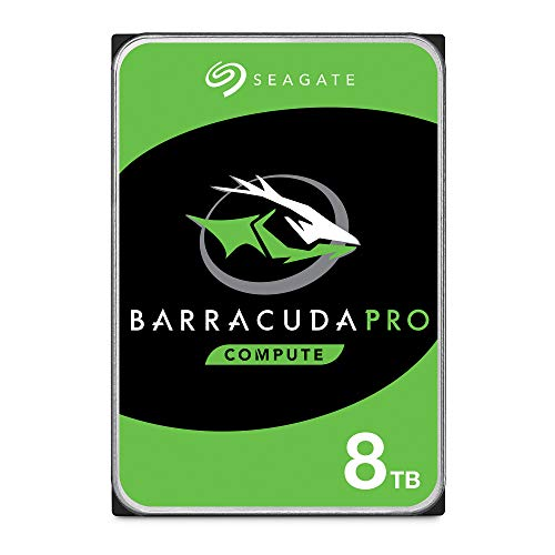 Seagate Barracuda Pro Performance Interne Festplatte (SATA HDD, 8 TB, 6 GB/s, 256 MB Cache, 8,9 cm (3,5 Zoll) (ST8000DM0004)