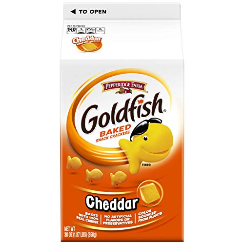 Amazon - 2 Pack of Pepperidge Farm Goldfish Crackers (30 Ounces Per Pack) $8.62