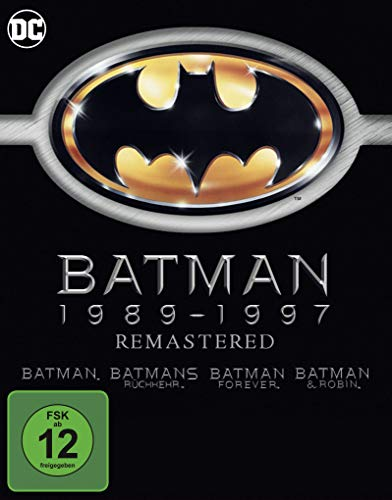 Batman 1-4 - Remastered [Blu-ray]