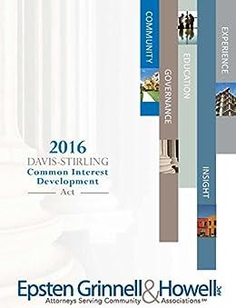 DAVIS – STIRLING COMMON INTEREST DEVELOPMENT ACT 2016 EDITION by [Sue Hawks McClintic, Jay Hansen, Dea Frank, Nancy Sidoruk]