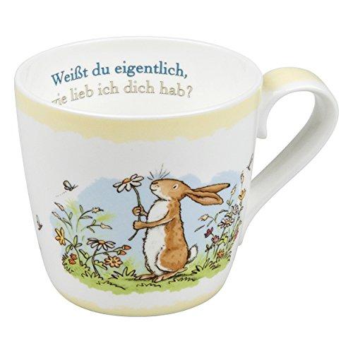 Könitz Weißt Du Eigentlich Becher, Kaffeebecher, Teetasse, Tasse, Porzellan, 415ml, 1120571529