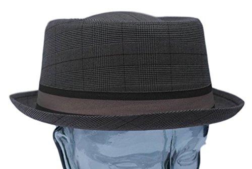 Vectis Thorness Rude Boy/Ska Pork Pie Hat - Brown Size 59cm