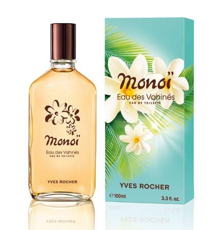 Yves Rocher MONOÏ Eau de Toilette Monoï, Sommer-Duft für Frauen & Mädchen, exotisches Parfum-Spray, 1 x Zerstäuber 100 ml