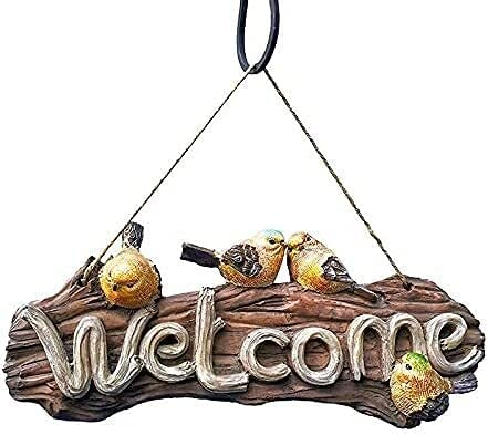 LIYUHOUZUONC Outdoor Statues Credence Sign Garden Welcome Manufacturer direct delivery