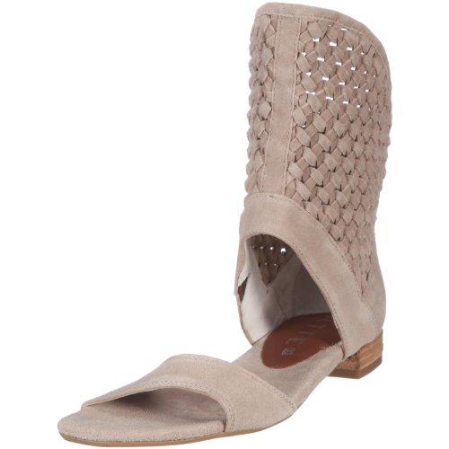 JETTE Summer Twist Flat Sandal 63/11/01012-650.4,0, Damen, Sandalen/Fashion-Sandalen, Beige  (beige 650), EU 37  (US 4)