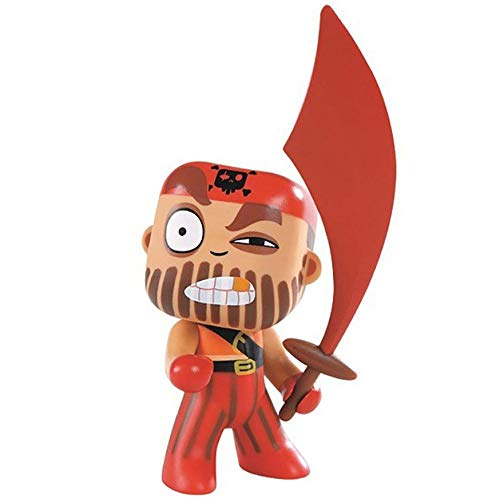 Djeco - Figurine pirates Arty Toys - Captain Red