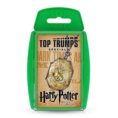 Harry Potter y Las Reliquias de la Muerte Parte 1 Top Trumps Specials Juego de Cartas