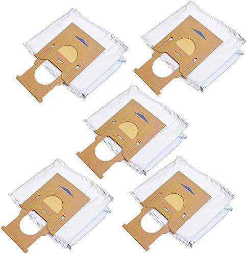 QIBIN 5 bolsas de polvo para aspiradora OZMO T8/T8AIVI/robot barrido de repuesto para herramientas de limpieza del hogar