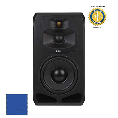 Review Of Adam Professional Audio S5V Active Three-Way 12 Main/Midfield Studio Monitor with Microfi...
